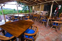 Picture of the dining room at Rancho Armadillo Bed and Breakfast, Costa Rica Costa Rica_hotels_ resorts_ rancho armadillo_ beach_ playas del coco_ adventure inns of costa rica_costa rica airfares_costa rica car rentals_costa rica trip advisor_guanacsate_rancho armadillo_costa rica tours?costa rica surfing_costa rica fishing_costa rica volcanoes_
